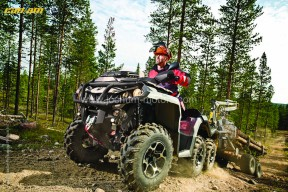 Can-Am - Outlander 6x6 1000 XT