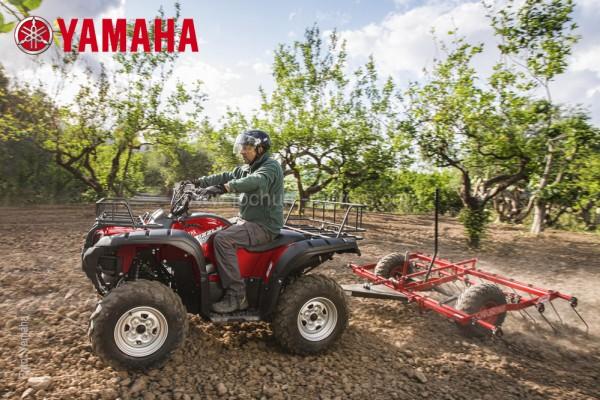 Yamaha Grizzly YFM 550 EPS Camouflage
