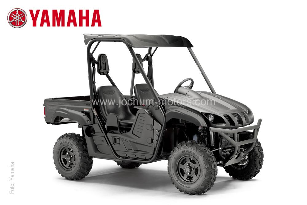 Das Side-by-Side Vehicle Yamaha Rhino YXR 700 in Schwarz gehört zu den Besten SSVs.