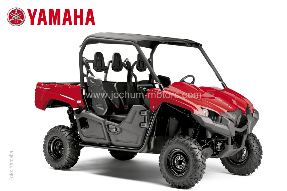 Der rote Yamaha Viking YXM 700 liefert 46 PS bei 686 ccm.