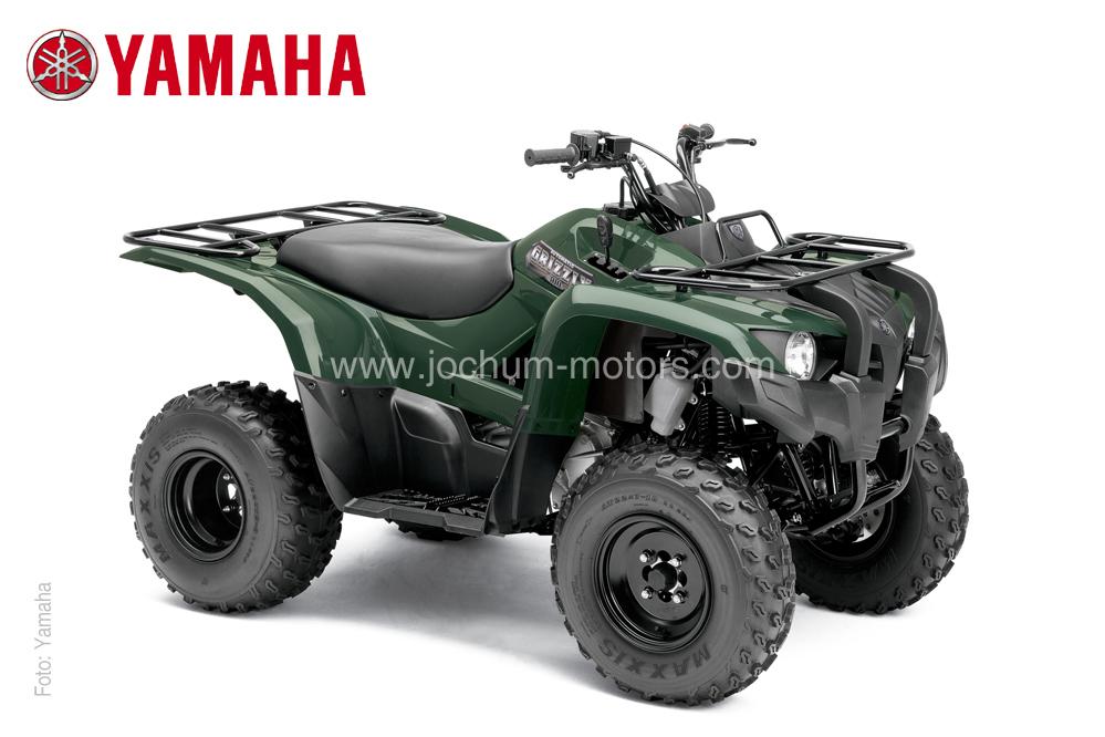 Das Yamaha ATV, Grizzly YFM 300 liefert 19 durchzugstarke PS aus einem Einzylinder-Wassergekühlten Motor