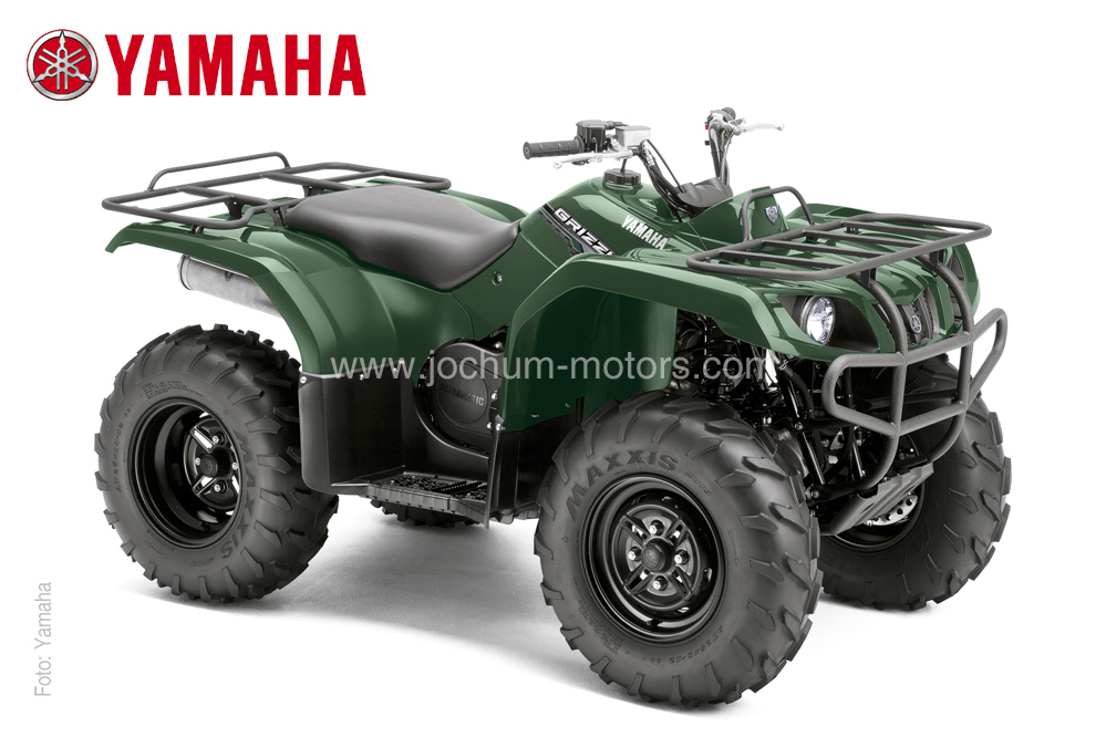 Das ATV Yamaha Grizzly YFM 350 4WD überzeugt in vieler Hinsicht