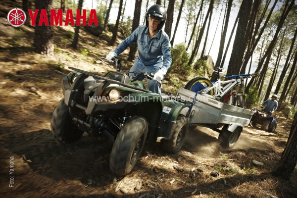 Yamaha Grizzly YFM 450 IRS