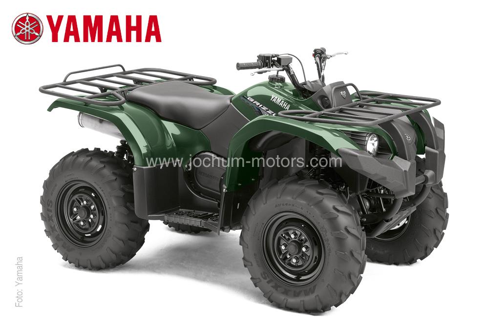 26 starke PS und niedriger Kraftstoffverbrauch bietet das Yamaha Grizzly 450 IRS ATV
