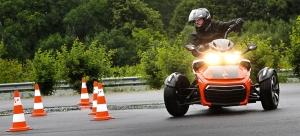 Can-Am Spyder Fahrsicherheitstraining